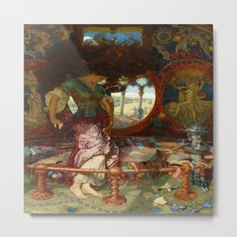The Lady of Shalott (1905) by Holman Hunt Metal Print