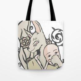 Kitsune's Mask Tote Bag