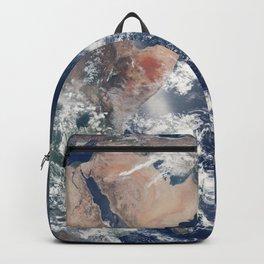 Blue Marble Earth Globe Eastern Hemisphere Satellite Telescope Ultra HD Backpack