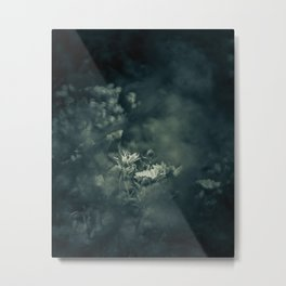 Restlessness Flowers Metal Print