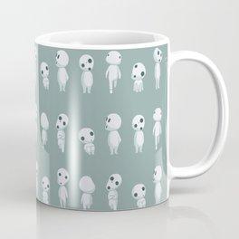 Ghibli Spirits - Kodama Mononoke pattern Coffee Mug