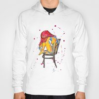 selena gomez Hoodies featuring selena by Laurie Art Gallery