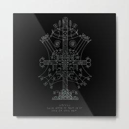 Vision Stave Metal Print
