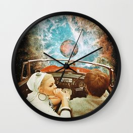 Space Riders Wall Clock
