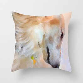 Tatyana's Profile Throw Pillow