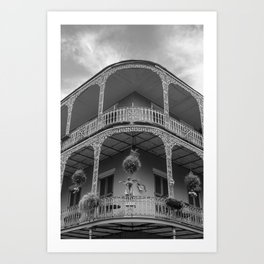 New Orleans Architecture Art Print