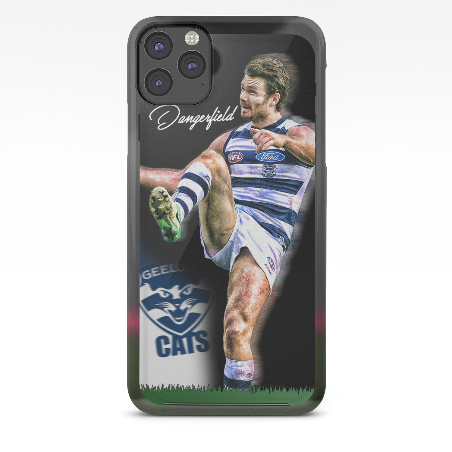 Patrick Dangerfield Afl Phone Case Iphone Case By Sportscases Society6