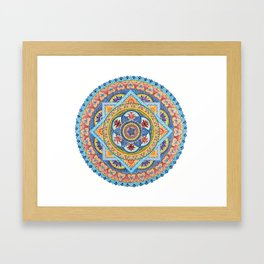 Passiflora Mandala #1 Framed Art Print