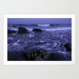 White Point Beach Art Print
