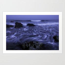 White Point Beach Art Print