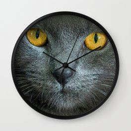 THE LOVE OF CATS Wall Clock