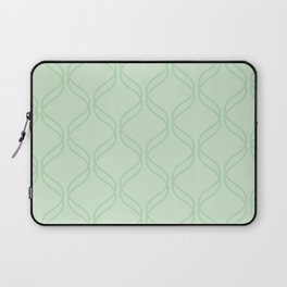 Double Helix - Light Greens #769 Laptop Sleeve