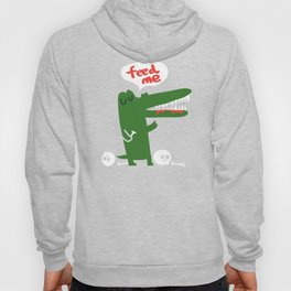 Hungry Hungry Alligator Hoody