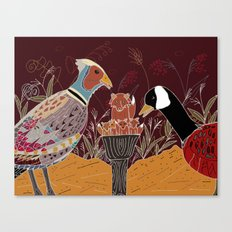 a peculiar role reversal Canvas Print
