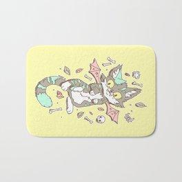 Monster Cat Bath Mat