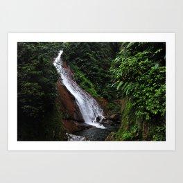 Peruvian Waterfall II Art Print