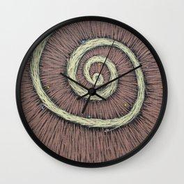 LSD vision - deep space Wall Clock