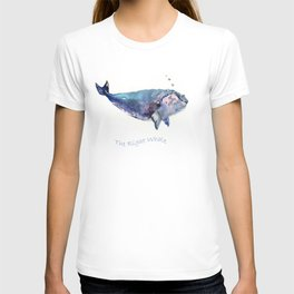 Rigth Whale artwork T-shirt