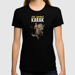 The Savage KARAK, King of Devil Jungle Island T-shirt