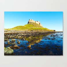 Holy Island Canvas Print