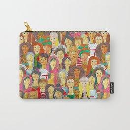 Pattern #75 - The gaze of sisterhood Carry-All Pouch