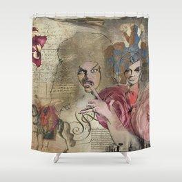 8 Fellini Shower Curtain