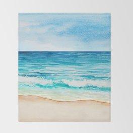 Sea Scenery #1 Throw Blanket