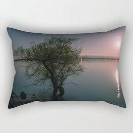 Moonrise over Sandbanks Rectangular Pillow