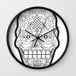 Matyo Skull Wall Clock