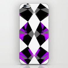 Gemstones Purple iPhone & iPod Skin