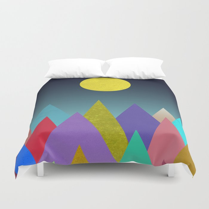 Abstract #443 Duvet Cover