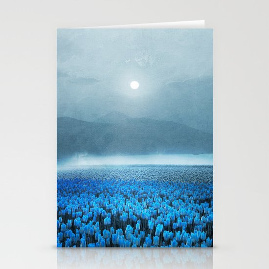 magical Tulips Stationery Cards