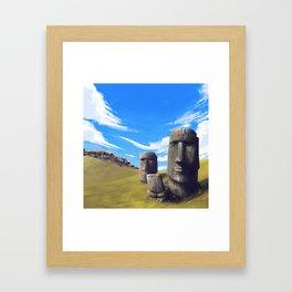 Rapanui Framed Art Print