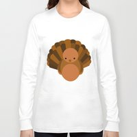 turkey Long Sleeve T-shirts featuring Turkey by StephyLe