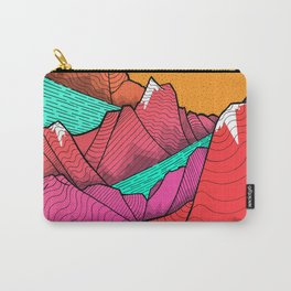 The islands and the sea Carry-All Pouch