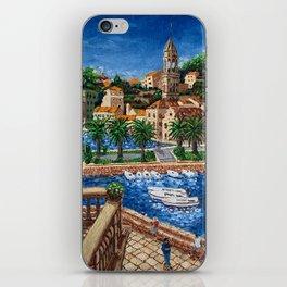 Port of Hvar, Croatia iPhone Skin