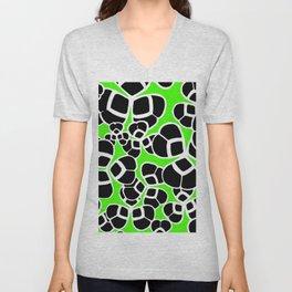 "Koloman (Kolo) Moser ""Textile pattern (Cloverleaf / Shamrock)"" (3) Unisex V-Neck"