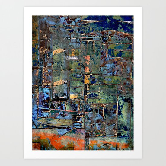 Metal, Wood & Chaos Art Print