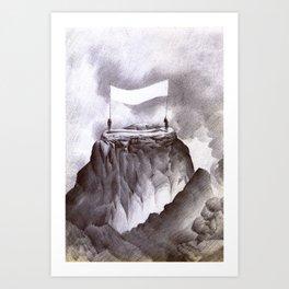 Landscape V Art Print