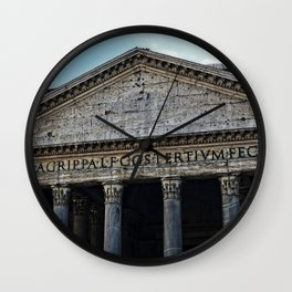 Pantheon Wall Clock