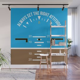 Right Attitude Wall Mural
