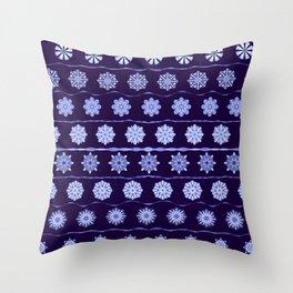 Iced Velvet 2 Throw Pillow