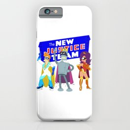 The New Justice Team iPhone Case