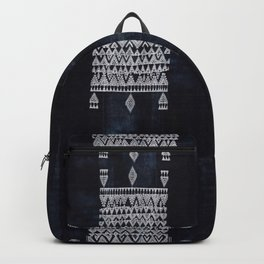 Arteresting V48 - Indigo Anthropologie Bohemien Traditional Moroccan Design Backpack