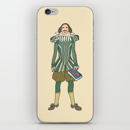Outfit of Shakespeare iPhone Skin