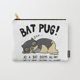 Bat Pug! Carry-All Pouch