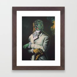 The Honorable Gregg Framed Art Print