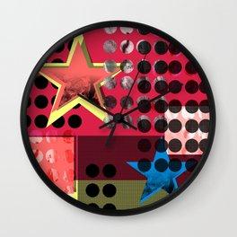 Mixed Feelings by Kimberly J Graphics Wall Clock