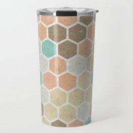 Geometric Maze Travel Mug