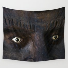 Mexican Mask Wall Tapestry